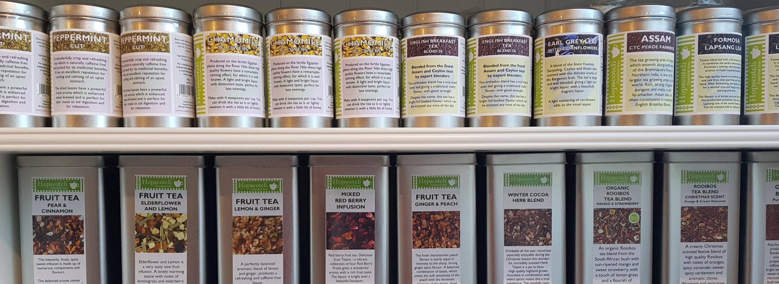 Loose Leaf Tea from Hopscotch