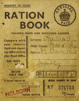 1942 Ration Book